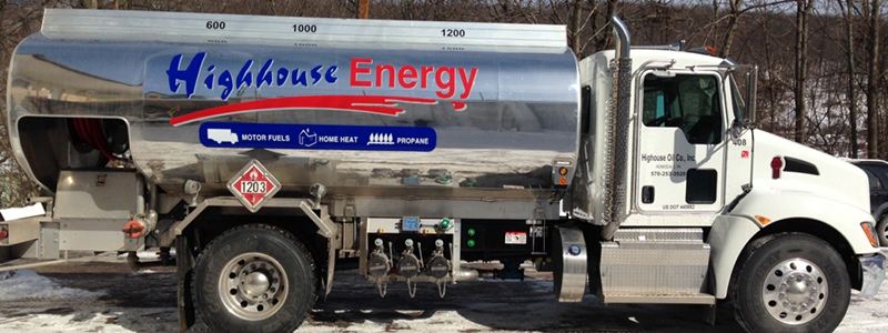 Highhouse Heating Oil Delivery Truck